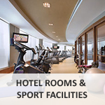 Hotel Rooms & Sport facilities