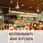 Restaurants and kitchen